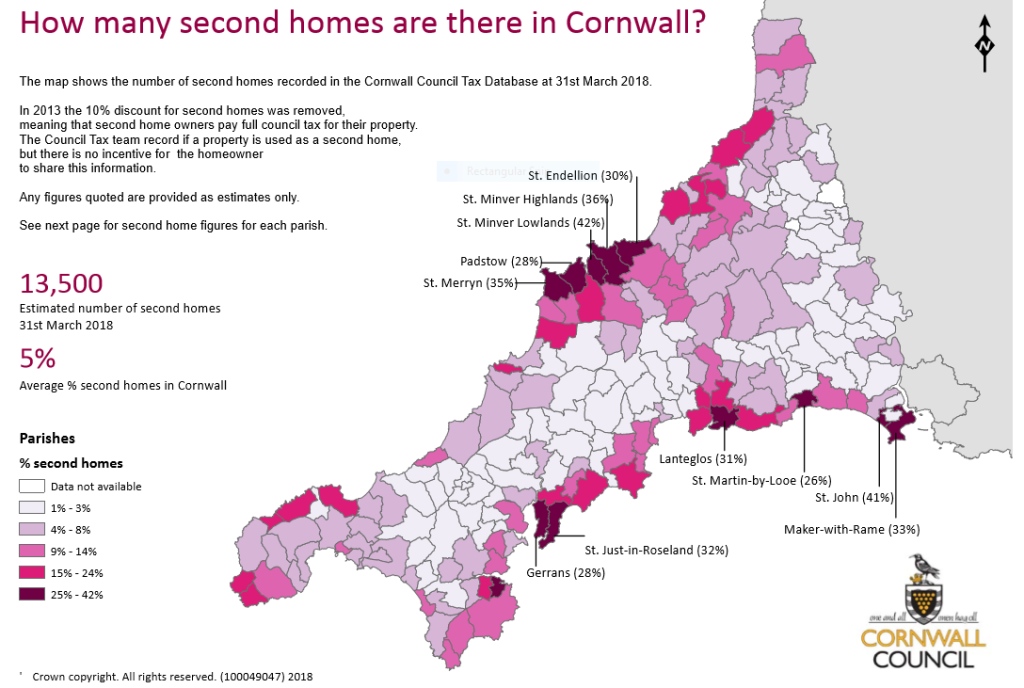 Cornwall second homes